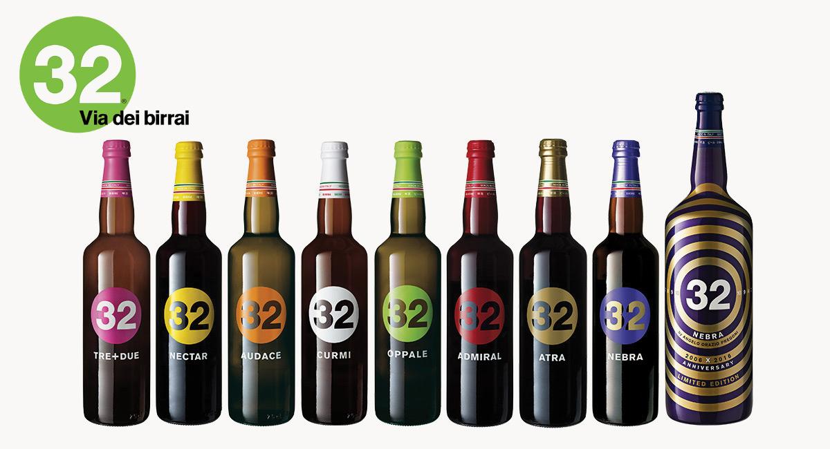 """Al Ferronato Store la """"Birra 32"""" con tante originali confezioni è perfetta per i tuoi regali!!"""
