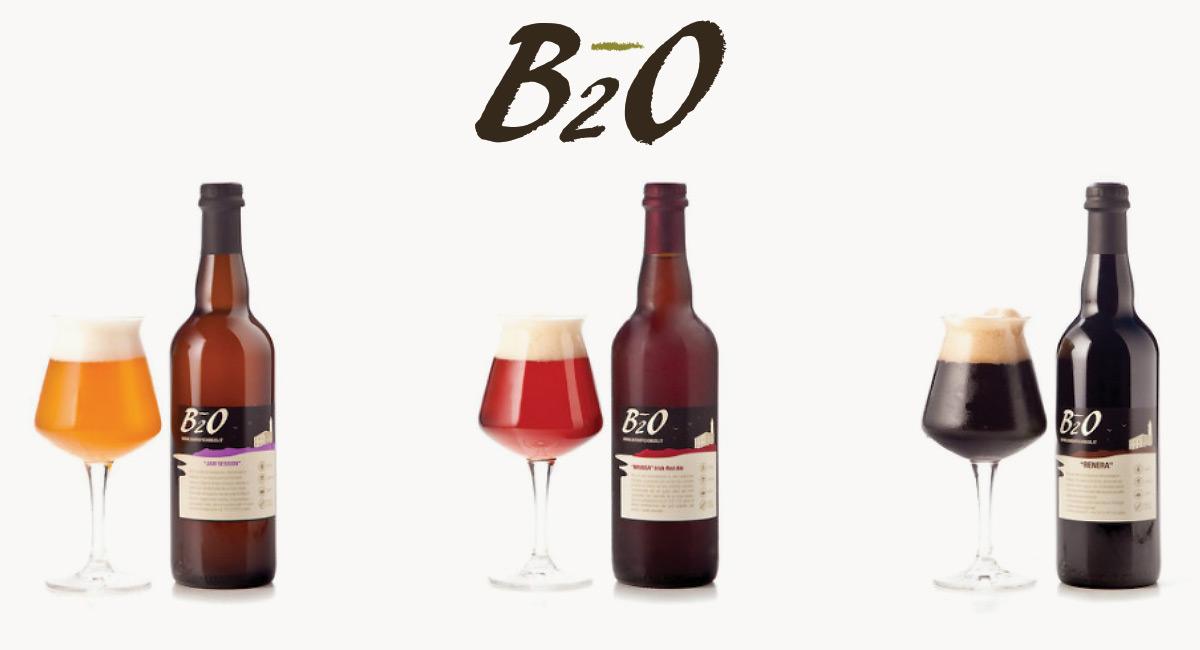 Scopri le Birre artigianali B2O al ferronato Store