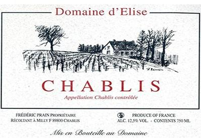 Domaine d'Elise e i suoi Chablis