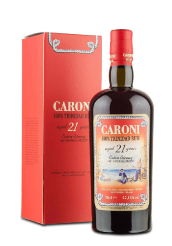 Caroni 21 Y.O. Trinitad 100 Proof