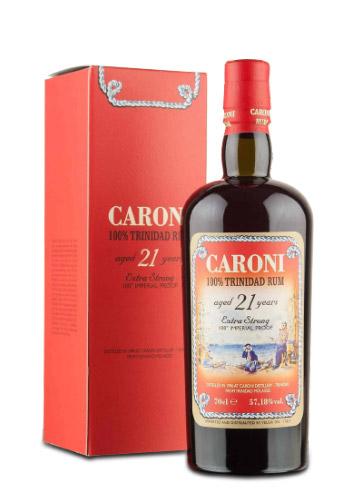 Rum Caroni 21 Y.O. Trinitad 100 Proof