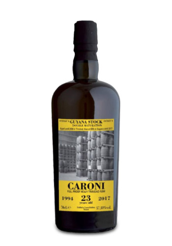 Caroni 1994 23 years old 100 Proof