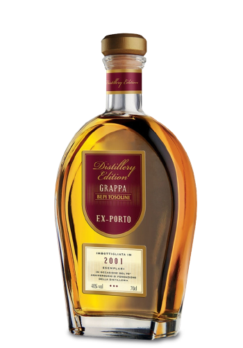 Grappa Bepi Tosolini - Barrique Ex Porto Decanter
