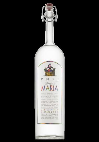 Grappa distillata a Bagno Maria Poli