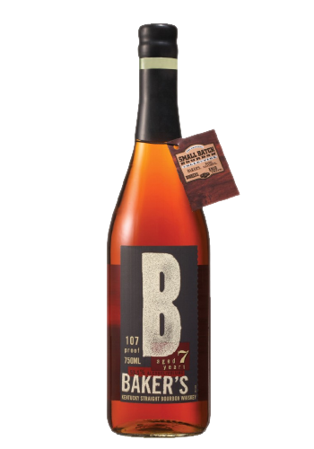 Bourbon Whiskey Baker's 7 Years Old Kentucky Straight