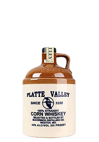Corn Whiskey Platte Valley 100% Straight