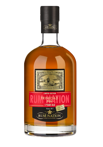 Rum Nation Trinidad 5 Anos