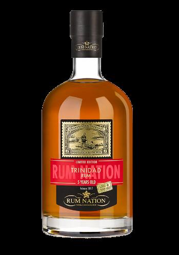 Rum Nation Trinidad 5 Anos