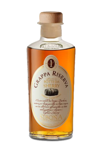 Grappa Affinata in Botti di Sherry Sibona