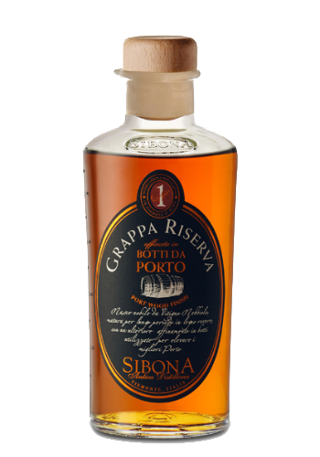 Grappa Affinata in Botti di Porto Sibona