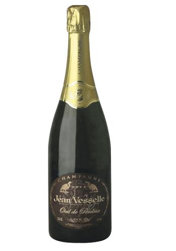 Champagne Oeil de Perdrix Jean Vesselle