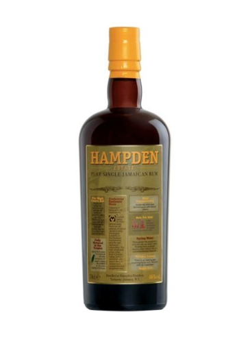 Rum Jamaican Hampden Estate