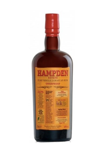 Rum OverproofJamaican Hampden Estate